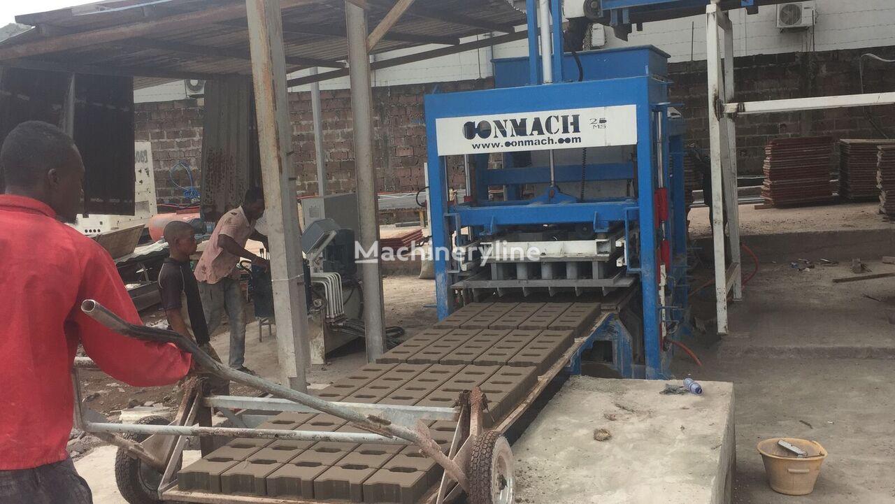 new CONMACH BLOCKKING-25MS block making machine