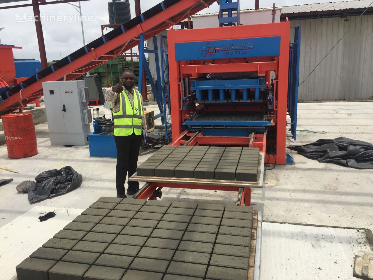 new CONMACH BLOCKKING-36MS block making machine