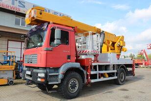 MAN TGM 18.330 4x4 35m Multitel J335 ALU/EX bucket truck