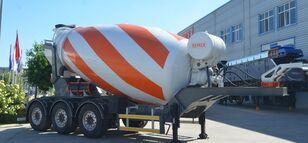 new SEMIX Malaxeur du Beton 12  concrete mixer semi-trailer