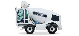 new FIORI DBX25 concrete mixer truck