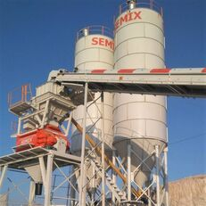 new SEMIX Stationary 130 STATIONARY CONCRETE BATCHING PLANTS 130m³/h concrete plant