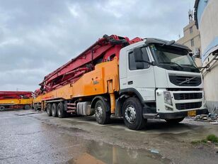 Sany SY5510THB on chassis VOLVO SANY 62m on  VOLVO--10*4 Truck concrete pump