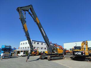 SAMSUNG-VOLVO SE 450 LC3 / DEMOLITION HAMMER3 GRIPPERS / 1 NEW / LOW HOURS / V demolition excavator