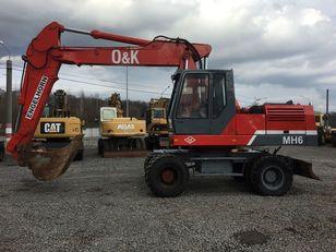 O&K MH 6 В наявності!! В Україні не працював wheel excavator