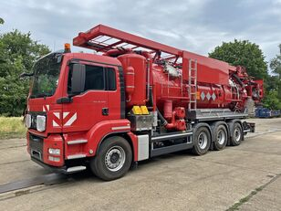 MAN TGS 35.540 8x4 Kaiser WRG ADR 19.500 combination sewer cleaner