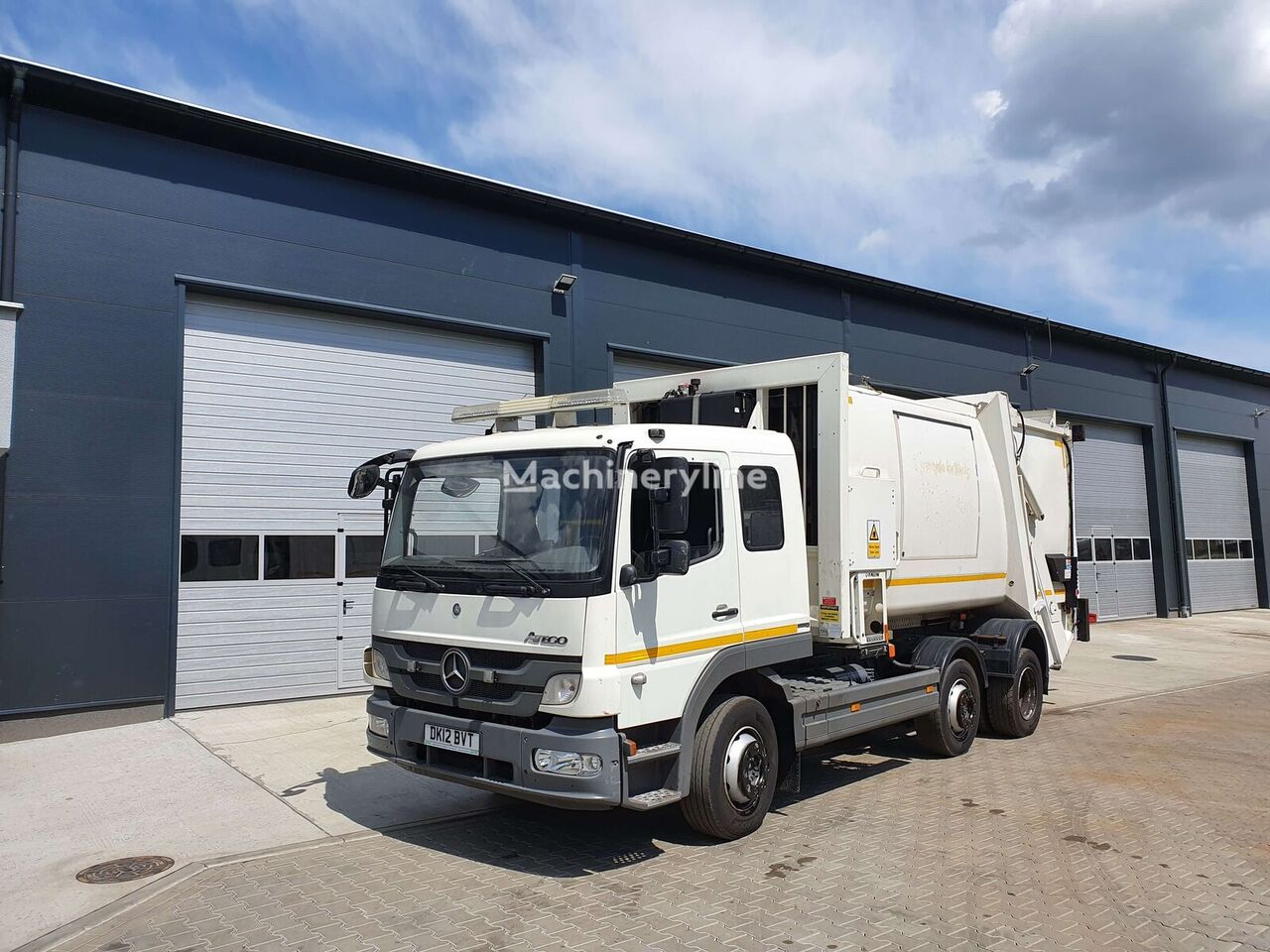 MERCEDES-BENZ ATEGO garbage truck