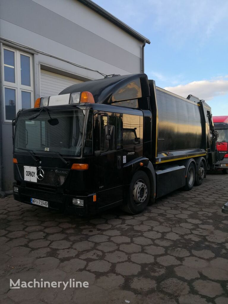 MERCEDES-BENZ Econic 2628  , CNG garbage truck