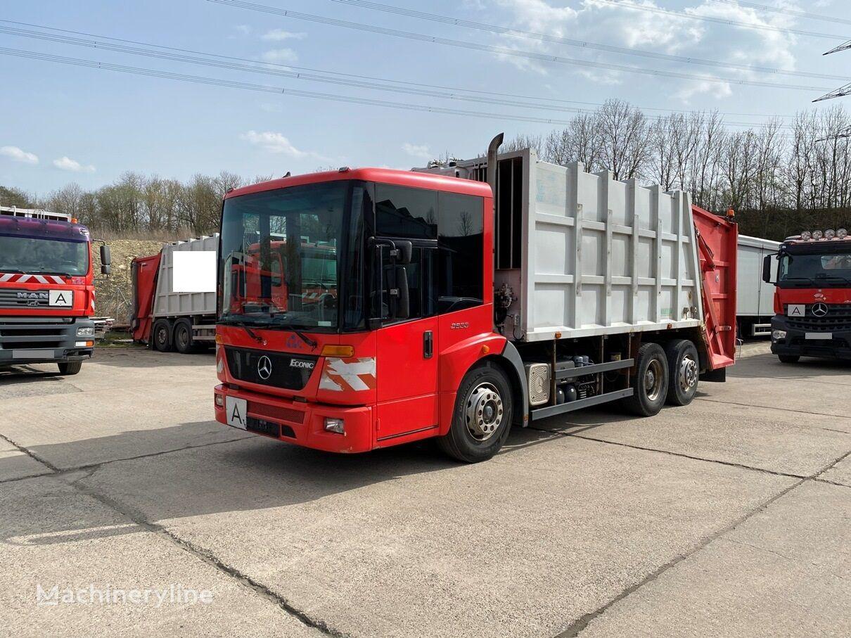 MERCEDES-BENZ Econic 2633 Haller M21-X2C Zöller 2301 garbage truck